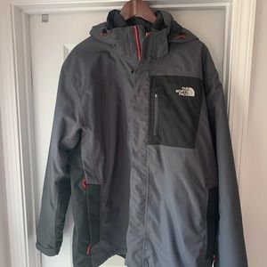 The North Face // HyVent ski jacket